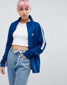 Read more about Nike classic track jacket in blue - blue