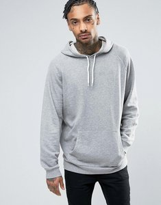 Read more about Asos oversized hoodie in grey marl - grey marl