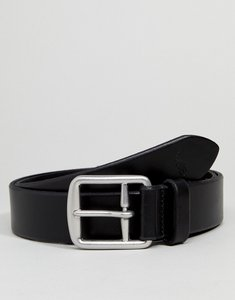 Read more about Polo ralph lauren saddle leather belt - black