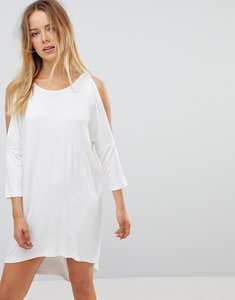 Read more about Vero moda oversize t-shirt dress - snow white