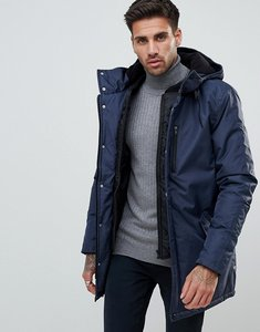 Read more about Kronstadt hooded coat - navy