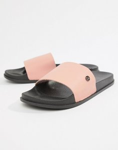 Read more about Kg by kurt geiger slider flip flops in pink - pink
