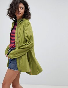 Read more about Hunter original lightweight raincoat - green