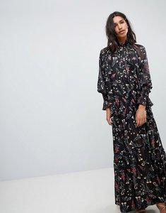 Read more about Sabina musayev ethereal maxi dress - black print