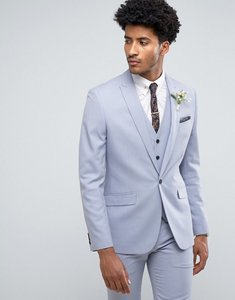 Read more about Farah skinny wedding suit jacket in blue - blue