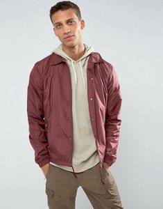Read more about Loyalty and faith coach jacket - red