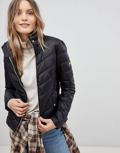 Read more about Barbour international aubern quilt jacket - black