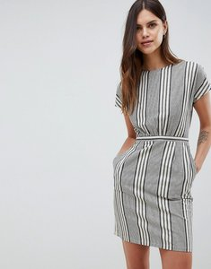 Read more about Uttam boutique checked shift dress - cream