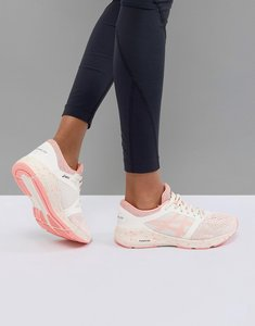 Read more about Asics running roadhawk trainers in cherry blossom - red