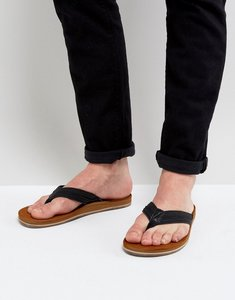 Read more about Call it spring agrianiel flip flops in black - black