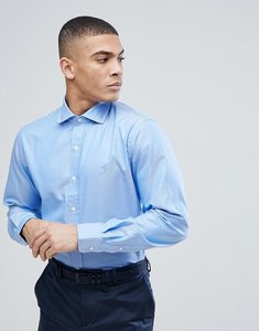 Read more about Polo ralph lauren oxford shirt regular fit cutaway collar in blue - basic blue
