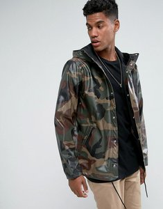Read more about Herschel forecast hooded coach jacket waterproof in camo print - woodland camo