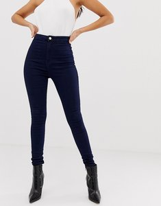 Read more about Missguided vice high waisted super stretch skinny jean - indigo