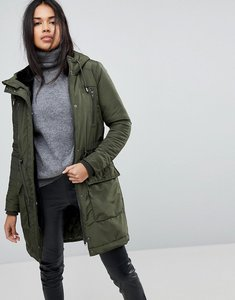 Read more about Y a s parka coat - green
