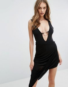 Read more about Missguided slinky ring detail body - black