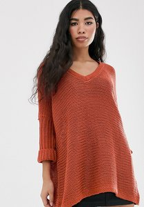 Read more about Noisy may oversized v neck jumper