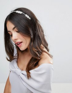 Read more about Johnny loves rosie bridal diamante section multiwear ribbon - cream