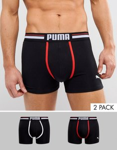 Read more about Puma 2 pack boxer - black