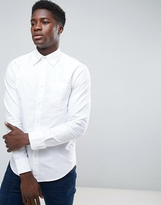 Read more about United colors of benetton button down oxford shirt in regular fit in white - white