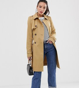 Read more about Asos design tall classic trench coat - stone