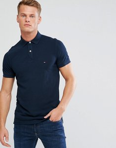 Read more about Tommy hilfiger jacquard polo shirt - navy