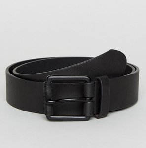 Read more about French connection casual leather belt - black