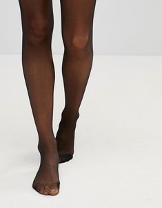 Read more about Leg avenue ultra sheer 15 denier tights with waist support - black