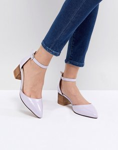 Read more about Asos taiya pointed heels - lilac