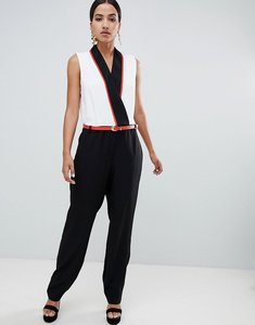 Read more about Forever unique tailored jumpsuit - black