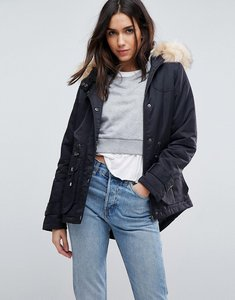 Read more about Asos ultimate parka - black