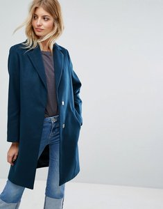 Read more about New look tailored coat - mid green