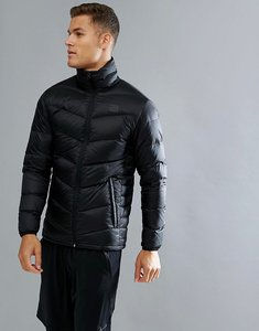 Read more about Jack jones tech quilted real down jacket - black
