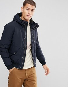 Read more about Esprit short parka with borg lined hood - black 405