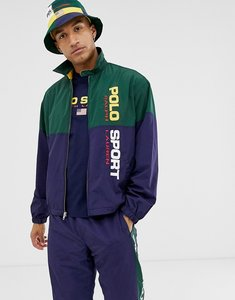 Read more about Polo ralph lauren sport capsule tape logo shell jacket in navy