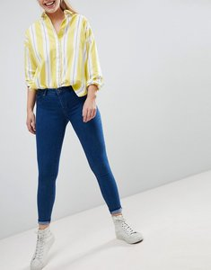 Read more about Bershka skinny push-up jean - navy