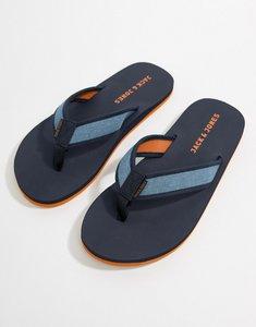 Read more about Jack jones comfort flip flops - navy blazer