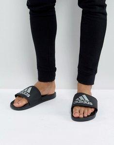 Read more about Adidas adilette cf sliders in black s79352 - black