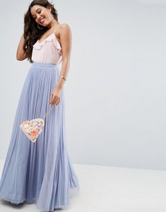 Read more about Asos tulle maxi prom skirt - blue