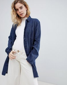 Read more about Bethnals graham stripe duster jacket - indigo stripe