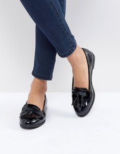 Read more about New look patent fringe loafer - black