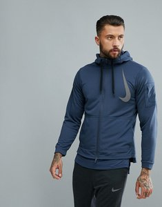 Read more about Nike training project x dry fleece hoodie in navy aa4656-471 - navy