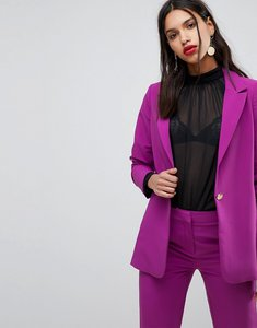 Read more about Y a s bright tailored blazer - purple