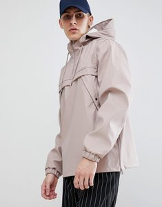 Read more about New look overhead rain jacket in dusty pink - light pink