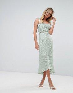 Read more about Vero moda lace insert midi dress - skylight