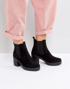 Read more about Office alesha heeled boots - black