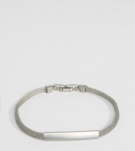 Read more about Designb london chain id bracelet in silver