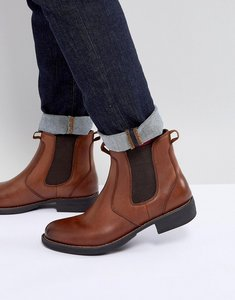 Read more about Eastland leather chelsea boots in tan - tan
