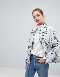 Read more about B young floral printed jacket - combi 1