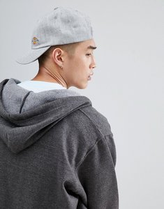 Read more about Dickies willow city baseball cap with small logo in grey - grey