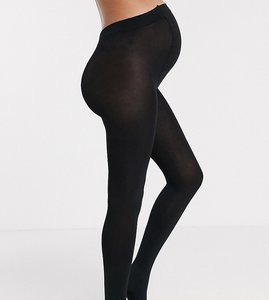 Read more about Asos maternity new improved fit 200 denier tights - black